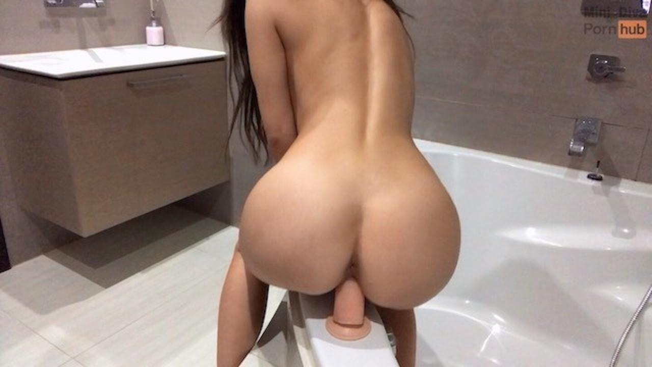 Solo Female Masturbation Dildo