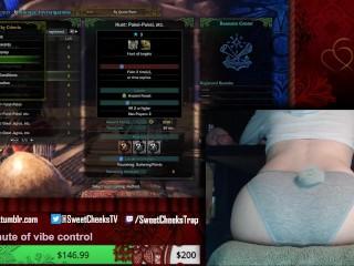 Sweet Cheeks Plays Monster Hunter World (Part 1)