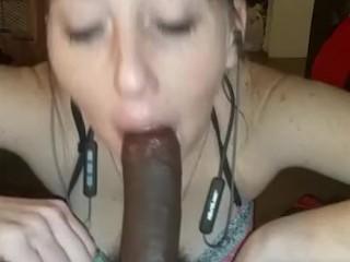 She suck my bbc so dam good must watch pov