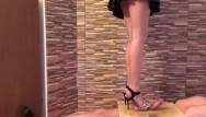 Fetish ballet high heels - High heels cock trample