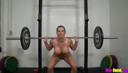 Naked women threesomes - Muscle milf works out naked - cory chase