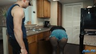 Horny housewife fucks the plumber - Lonely latina housewife fucks the plumber while husband is at work