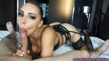 Sashas sensual blowjob