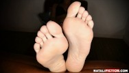 Young teen soles free Playing with my feet and showing my soles
