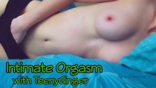 Intimate Orgasm with Tiny Teen [Homemade]