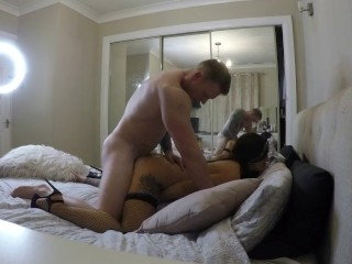 Sexy Wife Fucked Hard With POV Cumshot