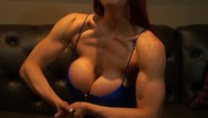 Amber nash strip - Muscular aunt fucks your brains out