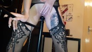 Sex on the bedpost Dirty slut lucy bedpost fuck