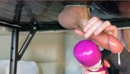 Baby cakes gloryhole - Bwc gets edged milked on gloryhole table