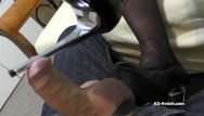 Fetish women shoes stores Shoe job and high heels job until cumshoot on feet and shoes