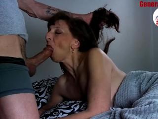 Sexy Milf Marie Blowjob Big Load Show Cum Swallow