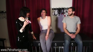 Mistress Teaches Wife About Chastity