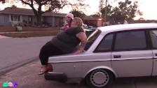 ssbbw ivy bounce car