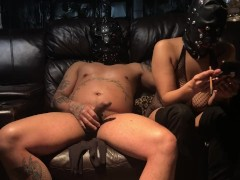 Fisting Mask Slave Pussy Making Her Scream Jizz Over And Over Sub Slave