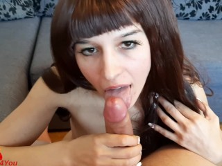 Give Me Your Hard Cock & Cum in My Mouth. Cum Play – LittleDevil4You
