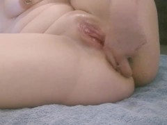 Milf Fapping With Cork And Knuckle, Humungous Squirt