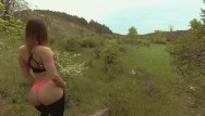 Hardcore teen fucking outdoors Young teen with nice butt gets quick outdoor fuck