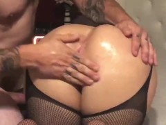 Pawg Millie Stylez Takes It In The Rump And A Phat Stream On Her Face