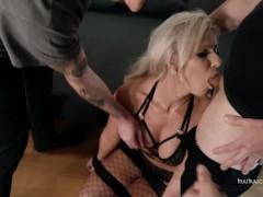 Amateur Kate Truu gets DOUBLE PENETRATION During Hardcore POV Gangbang