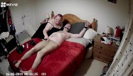 Bed post sitting nude woman - Tied to bed in tights with cbt and post orgasm torture - part 1