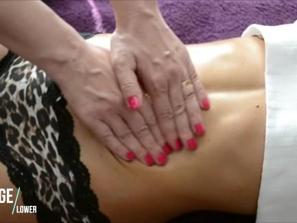 Hot Teen sexy belly massage – Amateur Homemade