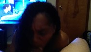Fuking hot sexy milf Sexy black chick swallows hot cum fresh out of the shower