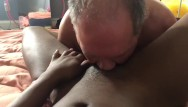 Doctor began eating my pussy - White slave eating my pussy