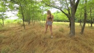 Amateur couple real sex Pov outdoor. love in the morning, amateur couple real public sex