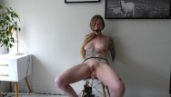 Bondage orgasms hooters Bound orgasm torture - tied up, ballgagged, and squirting