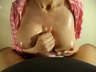 I Shot The Camera Lens, Covering It With Cum After An Awesome Titjob -SF#19