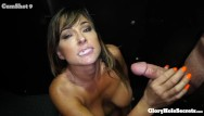 Big black hole porn - Hot horny busty milf makes love to dicks with her big mouth