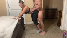 Yoga instructor gets fucked by one of her students