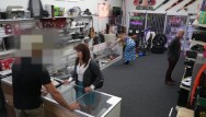 Xxx shops in la Xxxpawn - pawn shop owner takes advantage of curvy desperate latin milf