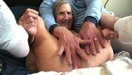 Old granny huge gaping pussy Hot milf pussy gape big rabbit masturbate orgasm close up mature granny