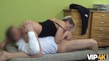 VIP4K. Schmutziges Pornocasting bei einer Leihagentur gibt versauten Girls