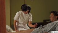Teen video secret handjob Jav mature masseuse secret handjob service with subtitles