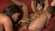 Black tranny lesbian sex Two great black whores give pleasure each others