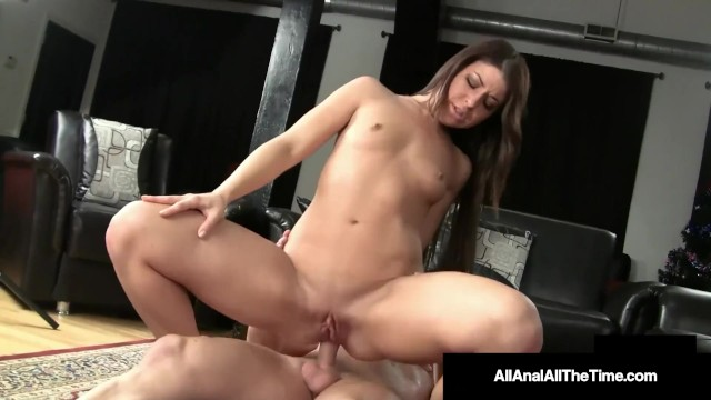 Butt Fucked Mia Gold Gets Ass Pounded  Gaped  Rimmed & Anal Creampied!