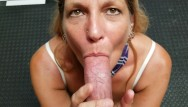 Xxx amatuer cock swallowing - Mature schoolgirl daizy layne deepthroats,swallows,sucks a huge cock ..pov