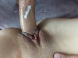 Fucking The Cum Into Teen Step Sister