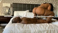 Ms chokes on dick - Ms london shows you how to ride a big black dick reverse cow girl