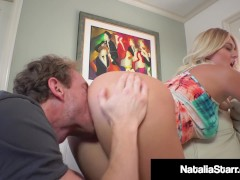 Blonde Beauty Natalie Starr Gets Her Perfect Pussy Pounded by a Lucky Cock!