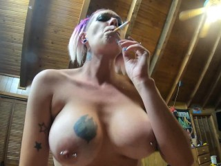 Chassidy Lynn – Smoking MILF POV Sex, Cowgirl Sex With Huge CREAMPI