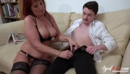Old redheaded milf sex - Agedlove redhead mature and horny man