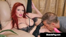 Canadian Cougar Shanda Fay Is Pussy Pounded By Husband!