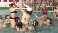 Bizzae japanese sex games - Jav huge pool meet topless cavalry charge game with subtitles