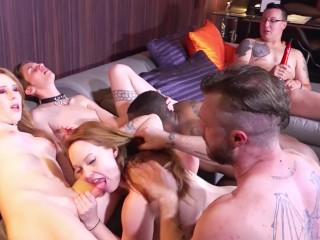 The Swinger Experience Presents Pansexual and Trans Orgy