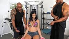 Anal Slut Jasmine Jae Wants Double Penetraion With Black Trainers