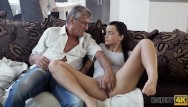 Very young sexual touching Daddy4k. old man satisfied sexual needs of his sons girlfriend