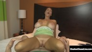 Hot busty fan babes Hot busty cougar charlee chase bangs lucky fan with 2 wet pussies